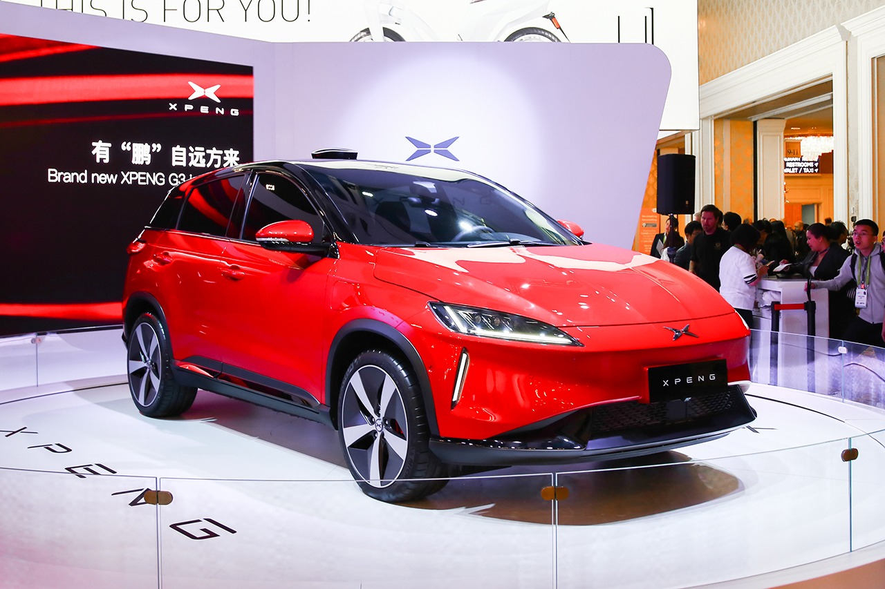 图集|小鹏汽车G3车型正式亮相 今年春季上市