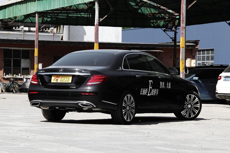 8月限时促销 奔驰E级最高优惠2.18万
