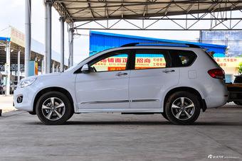 2016款哈弗H6升级版1.5T自动两驱精英型 简约白