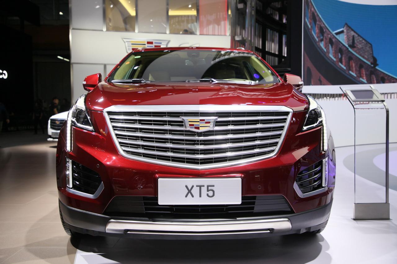 2018广州车展实拍:凯迪拉克XT5新能源