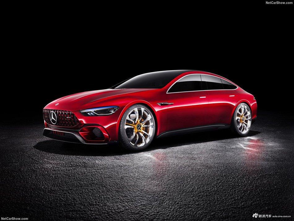 美到没朋友 奔驰AMG GT Concept四门轿跑