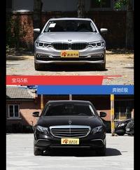 宝马5系和奔驰E级风格这么不同 到底该选谁?
