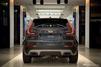实拍|凯迪拉克全新SUV XT4 搭载2.0T+9AT