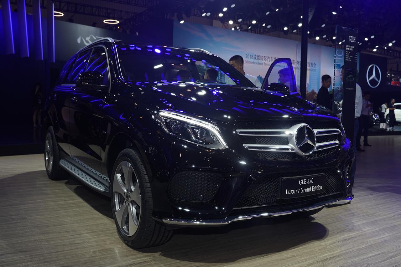 2018成都车展实拍:奔驰GLE320