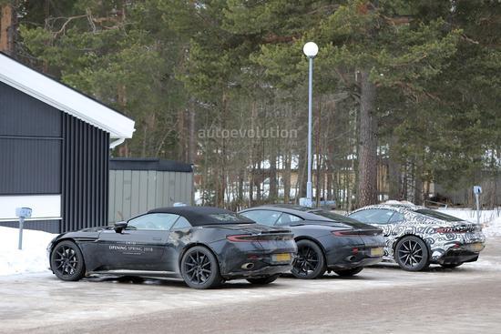 分别为敞篷版和高性能版 DB11新增两款车