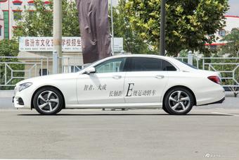 2018款奔驰E级改款2.0T自动 300L 豪华型