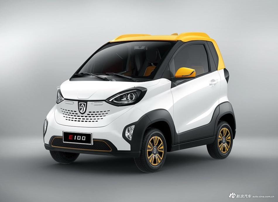 酷似smart  宝骏新纯电动车E100上市