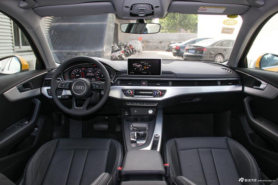 2018款奥迪A4L 2.0T自动30周年年型40 TFSI时尚型