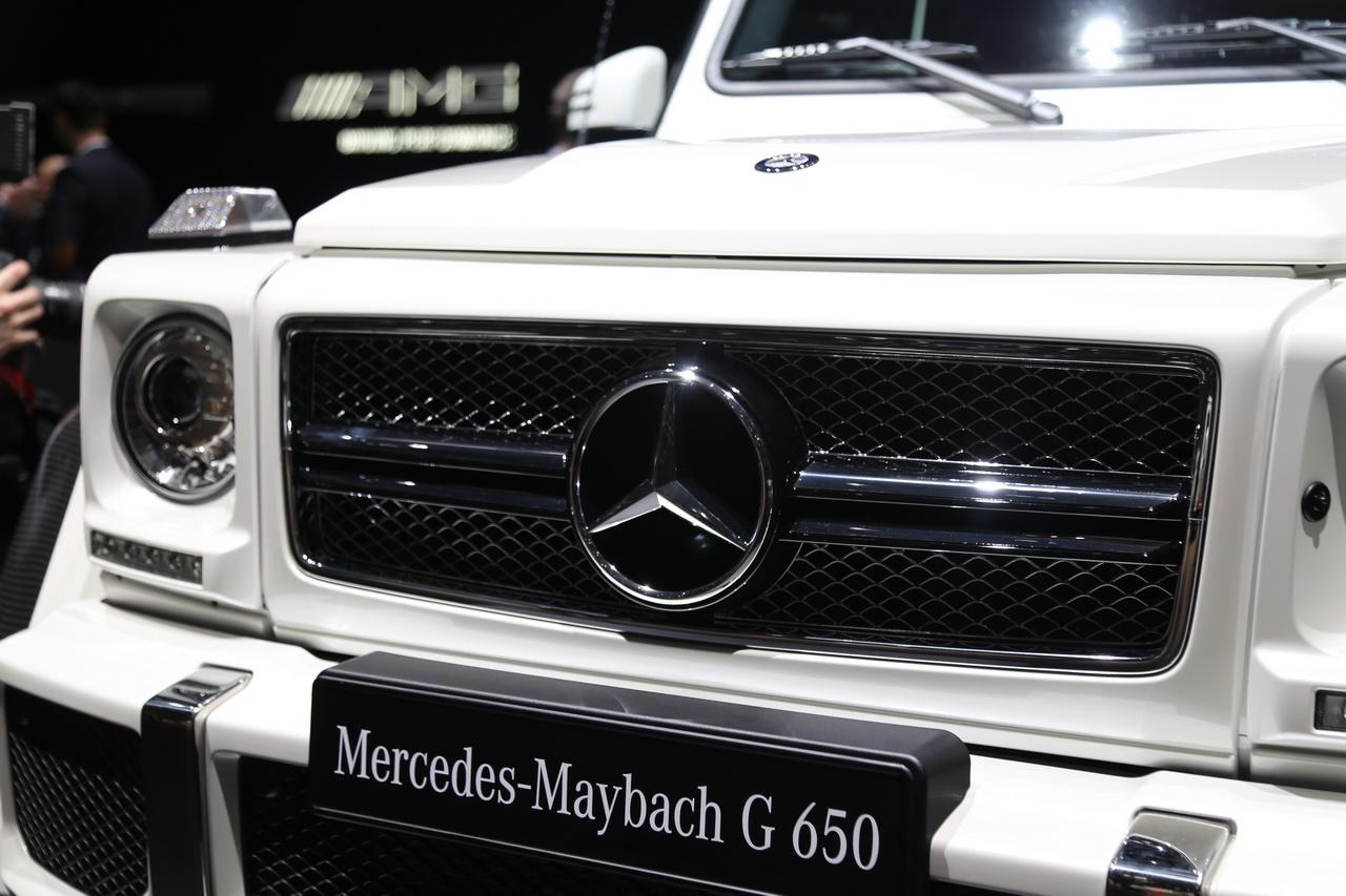 梅赛德斯-迈巴赫G级
