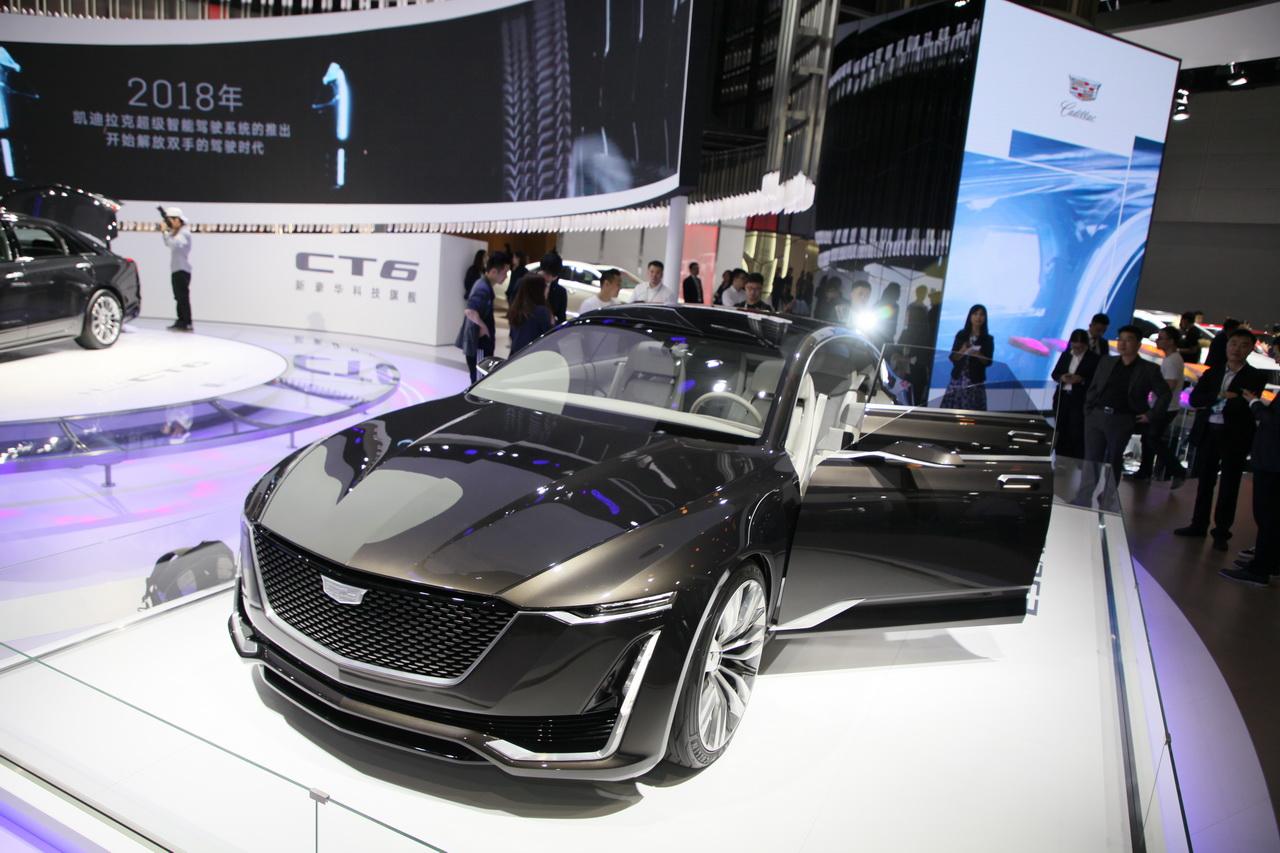 2018广州车展实拍:凯迪拉克Escala