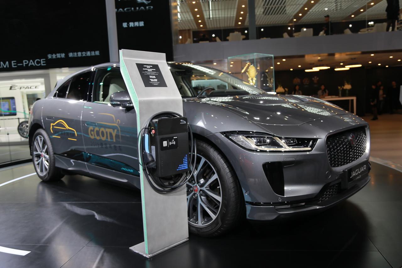 2018广州车展实拍:捷豹I-PACE新能源