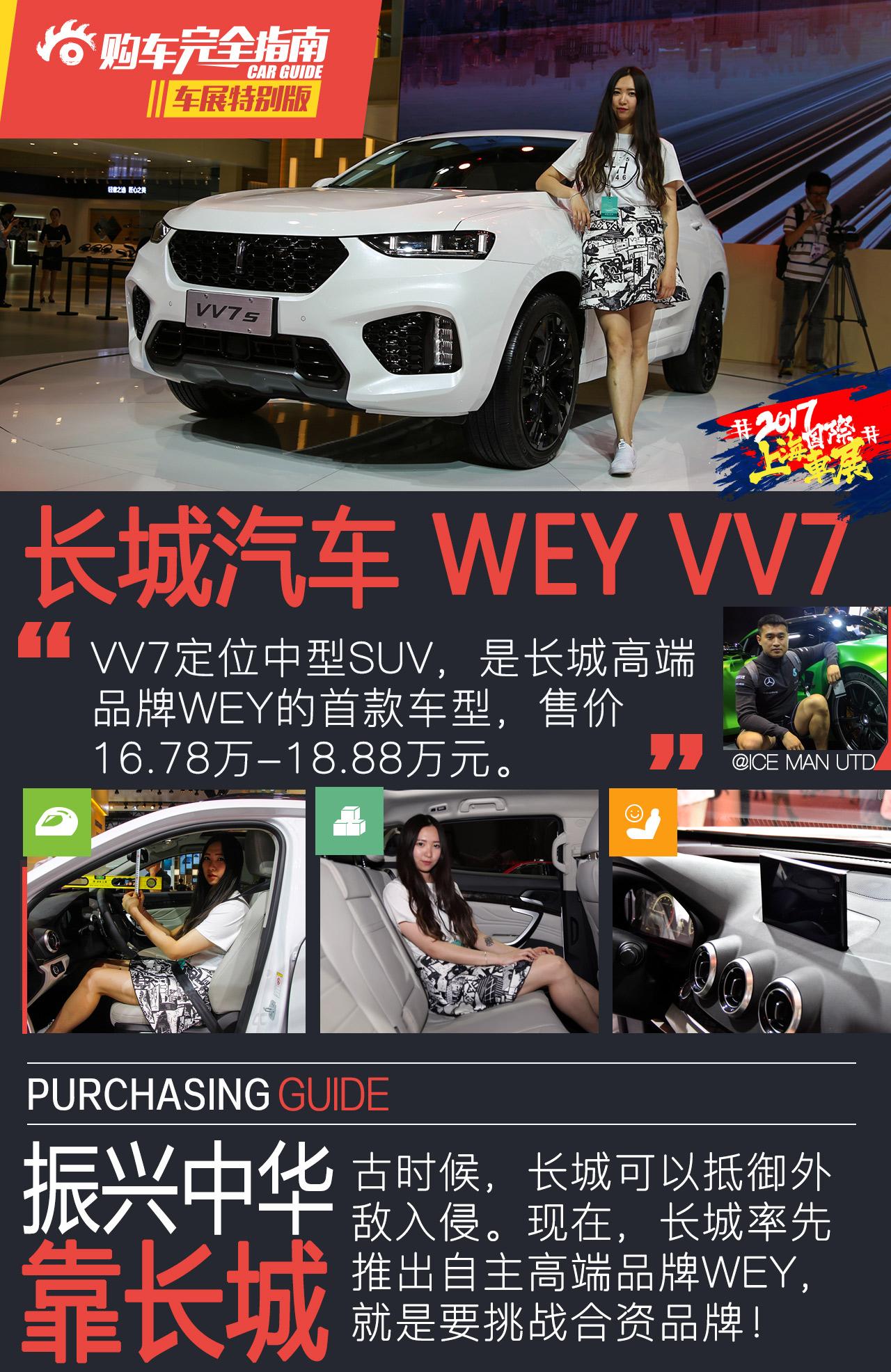 长城汽车 WEY VV7s高清图片