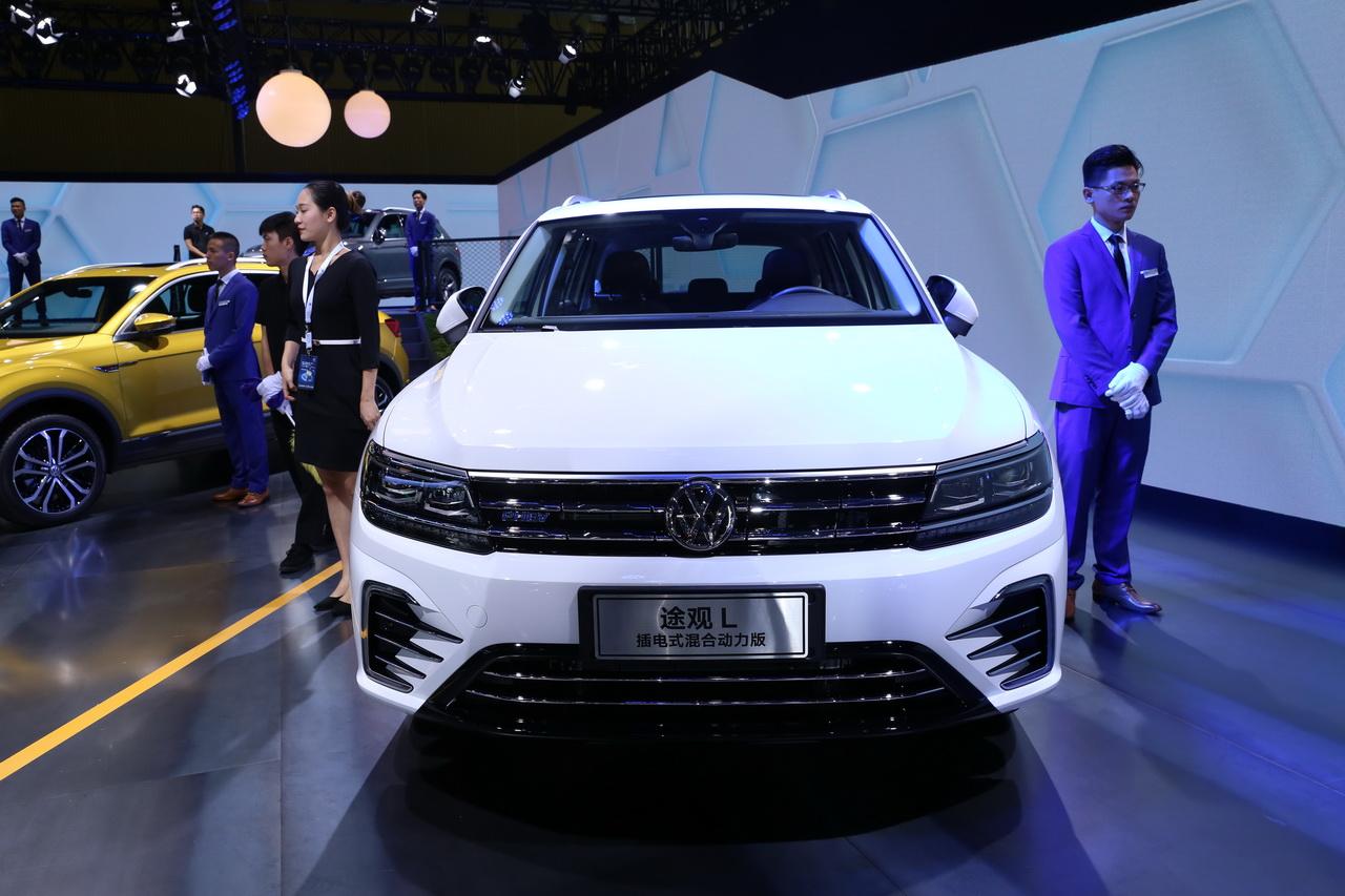 2018广州车展实拍:途观L新能源