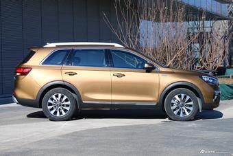 起亚全新SUV对飙汉兰达 实拍全新KX7