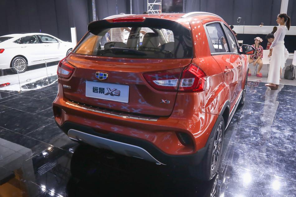 自主的价格,合资的细节,吉利汽车吉利远景X3最高优惠0.31万