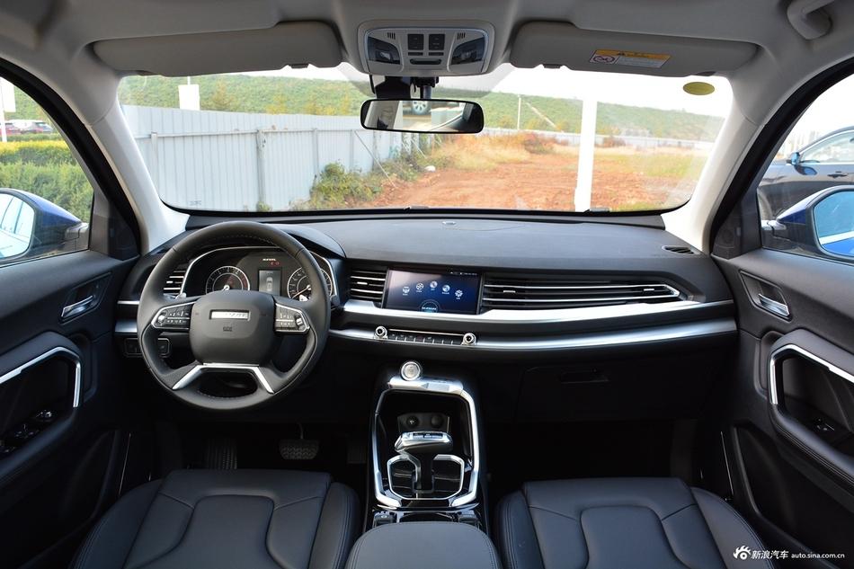 2017款哈弗H6 换代1.3T自动两驱风尚型蓝标