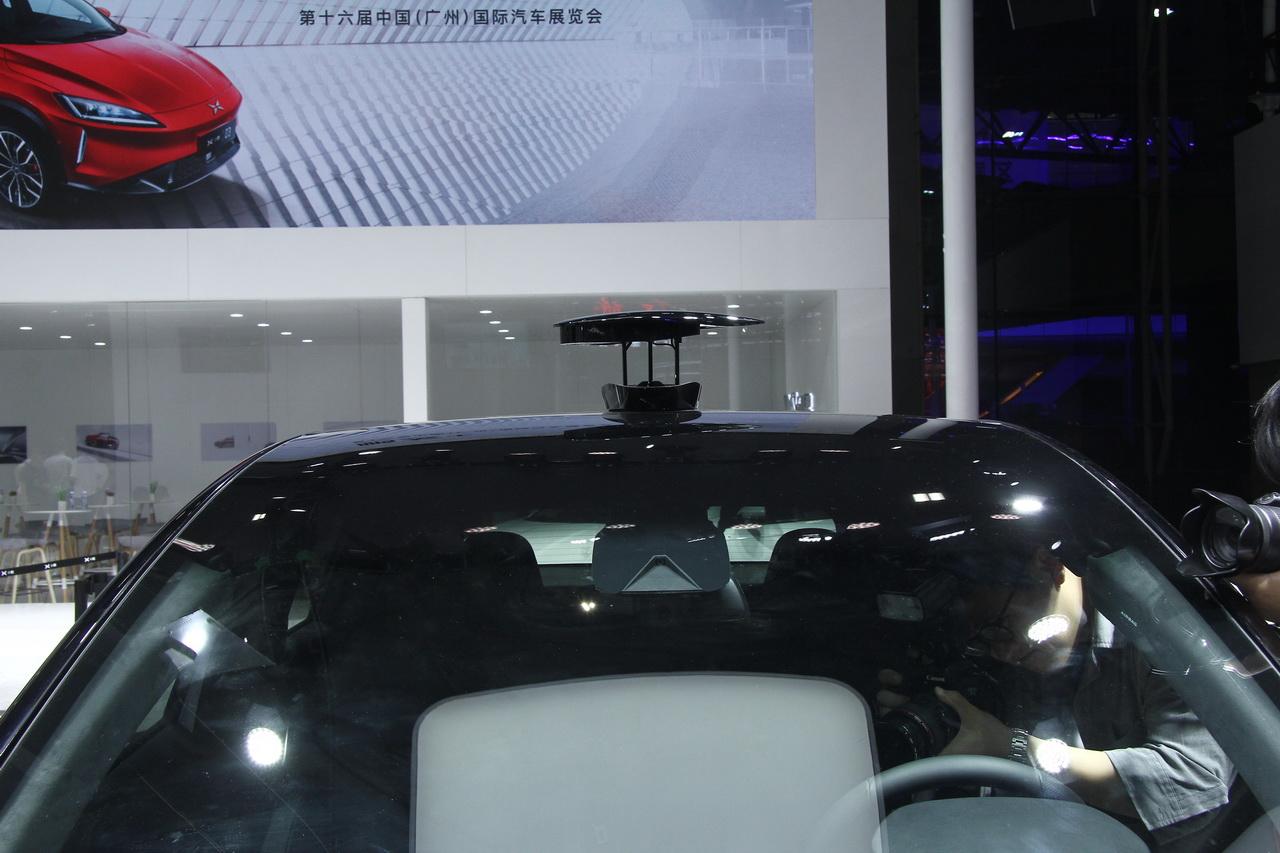 2018广州车展实拍:小鹏汽车G3新能源