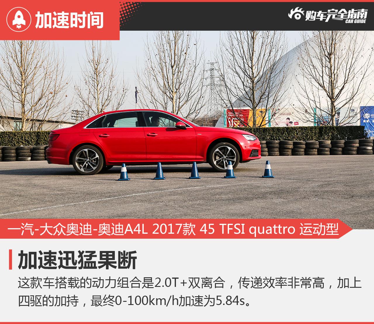 一汽-大众奥迪-奥迪A4L 2017款 45 TFSI quattro 运动型