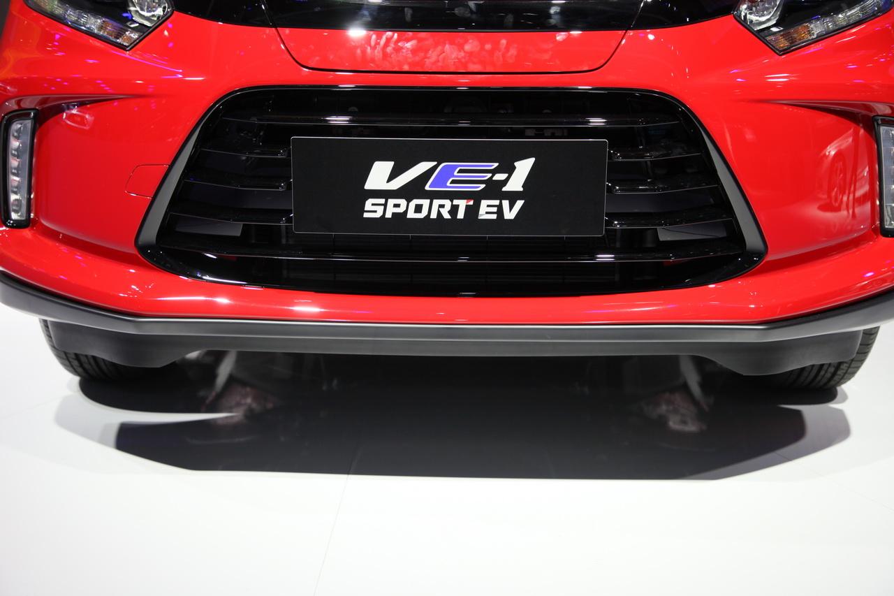 2018广州车展实拍:理念VE-1新能源