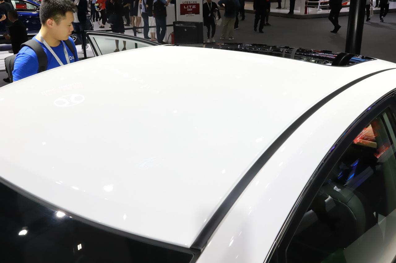 2018广州车展实拍:风神E70新能源