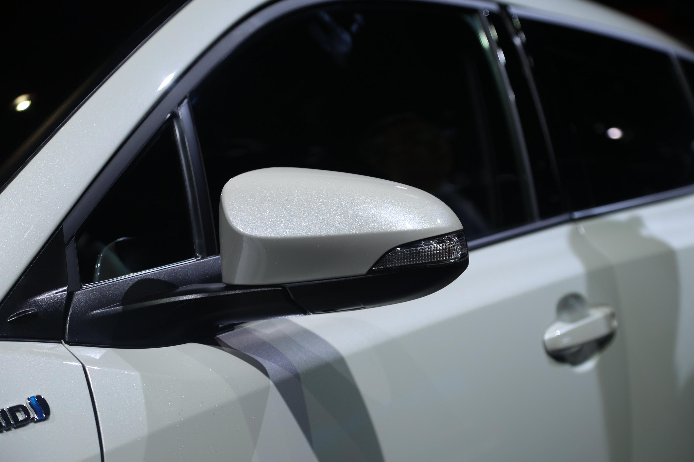 法兰克福车展 丰田C-HR亮相 造型很讨喜