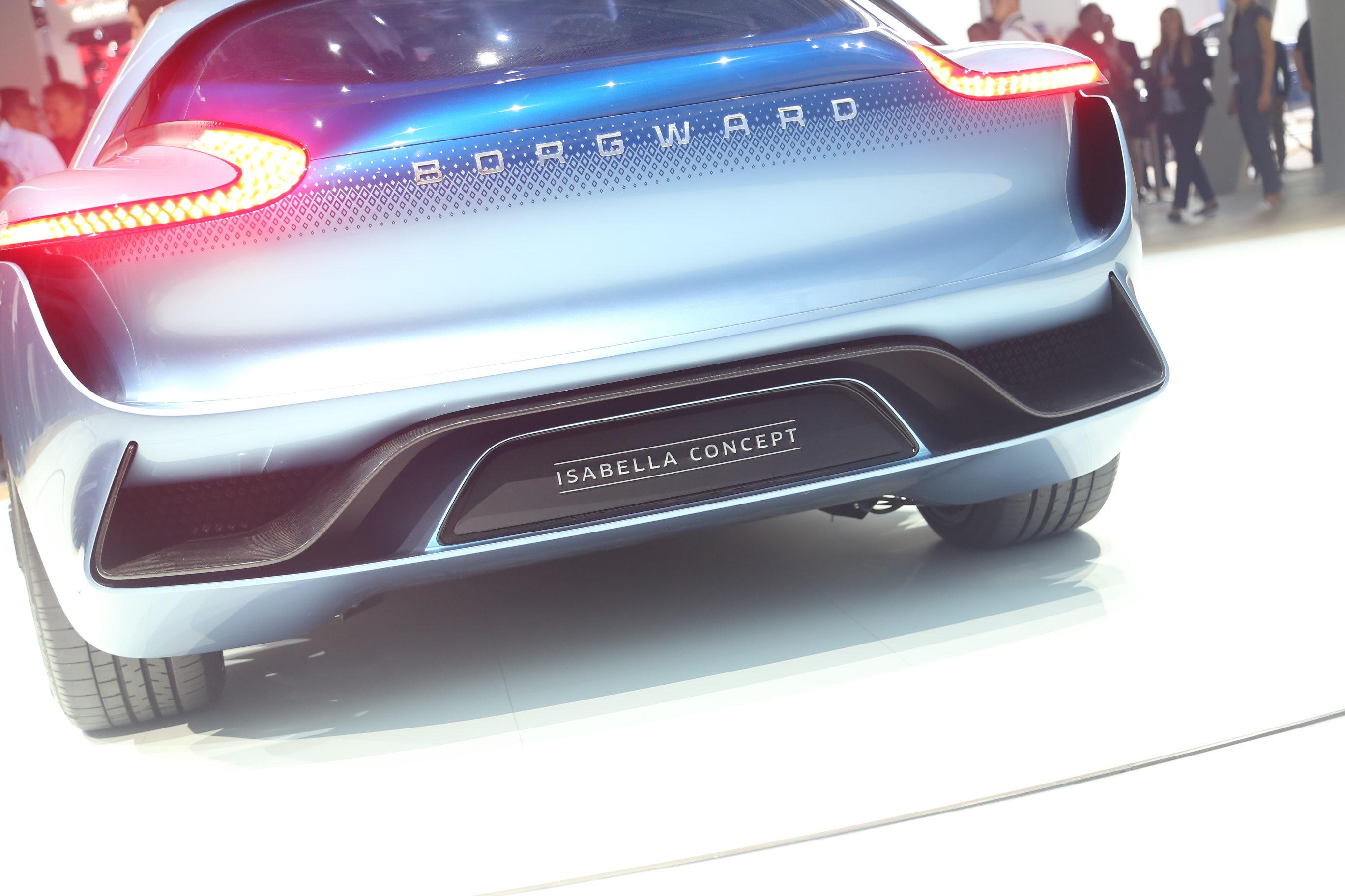 法兰克福车展 实拍宝沃Isabella概念车