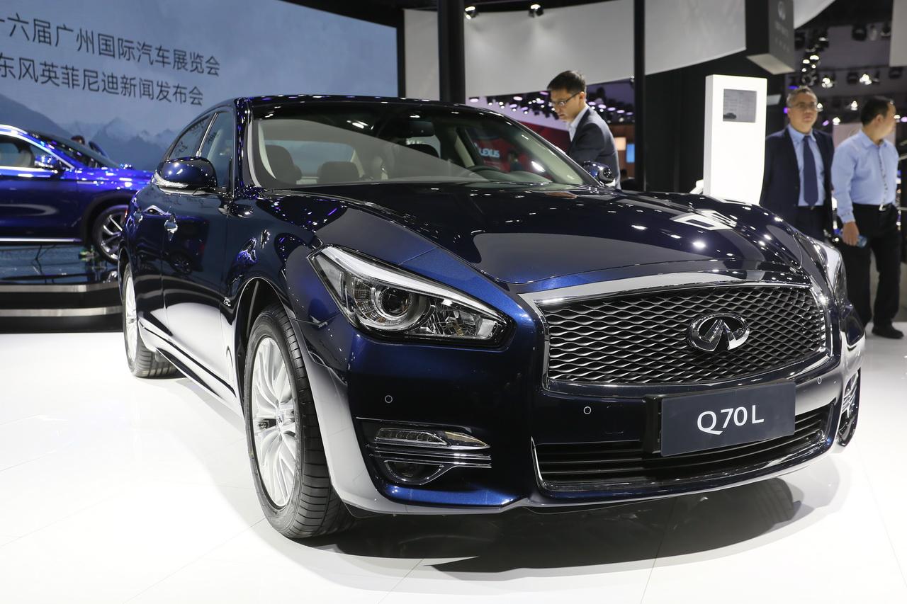 2018广州车展实拍:英菲尼迪Q70L