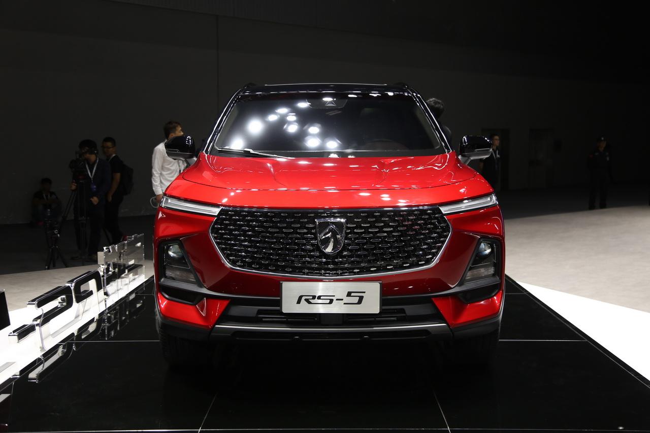 2018广州车展实拍:宝骏RS-5