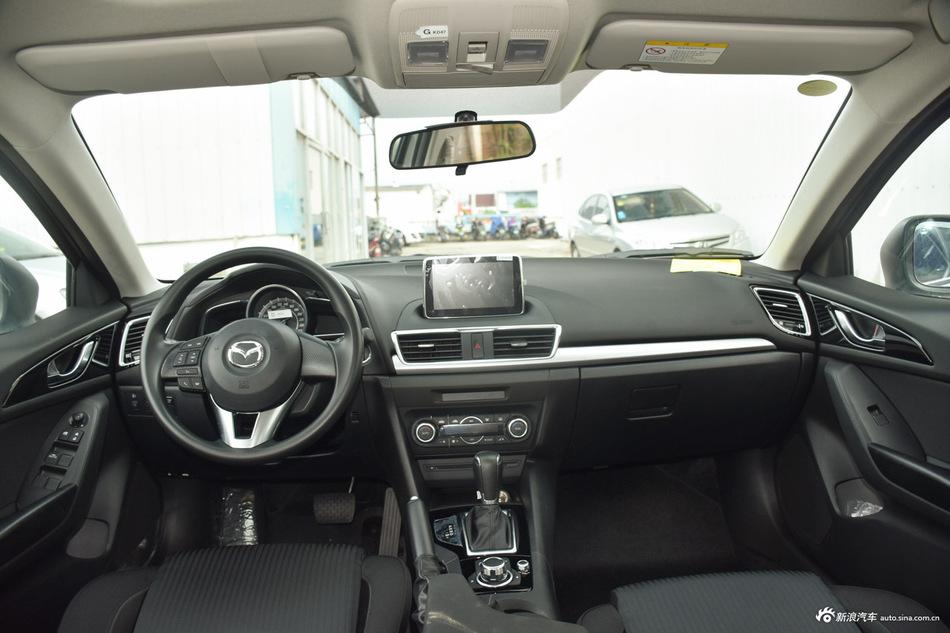 2016款马自达3昂克赛拉1.5L手动三厢豪华型 炫亮银
