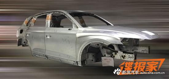 国产全新Q5白车身
