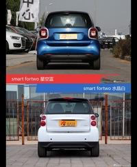 不同配色 风格迥异 smart fortwo你选对色(shǎi)了吗?