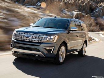 福特家族最大个SUV迎来换代 外形更加霸气