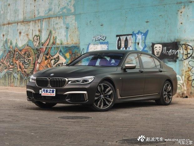 预售266.8万 宝马M760Li或1月14日上市