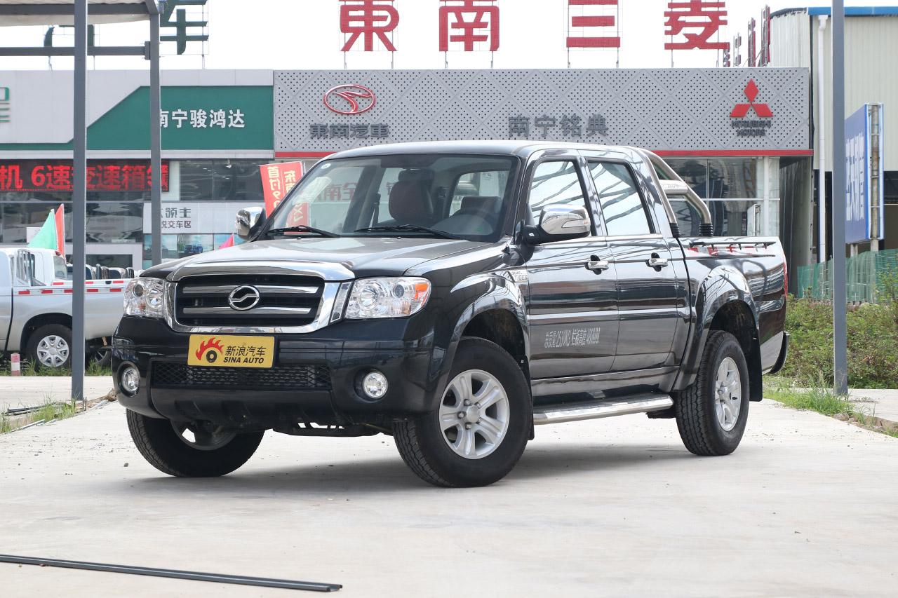2018款中兴威虎 2.8T柴油国V两驱精英型中双CA4D28C5-1B