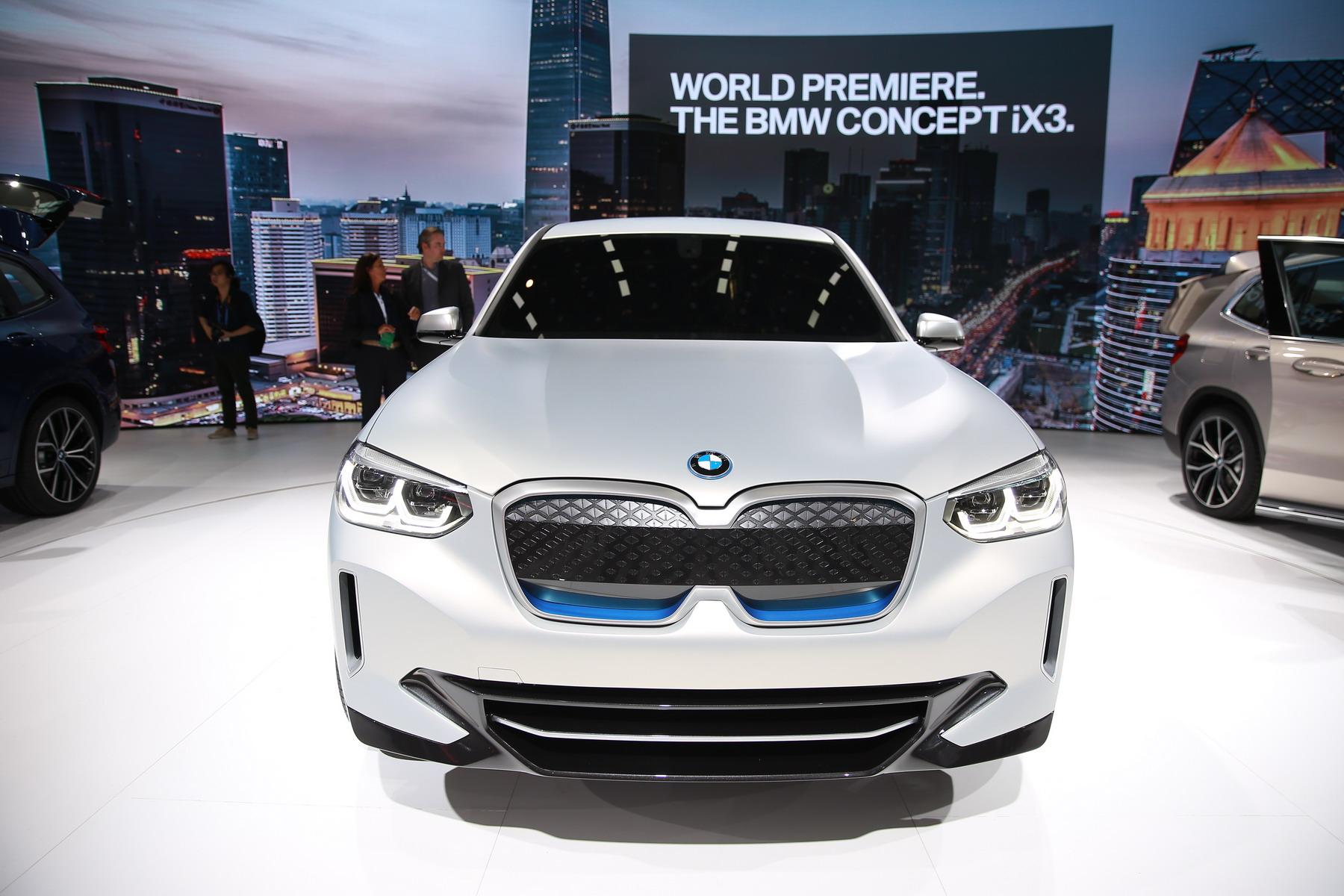 宝马iX3纯电动概念车