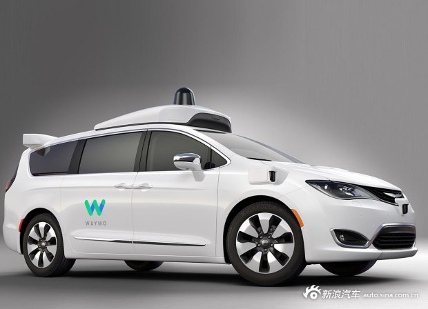 谷歌/FCA自动驾驶车官图