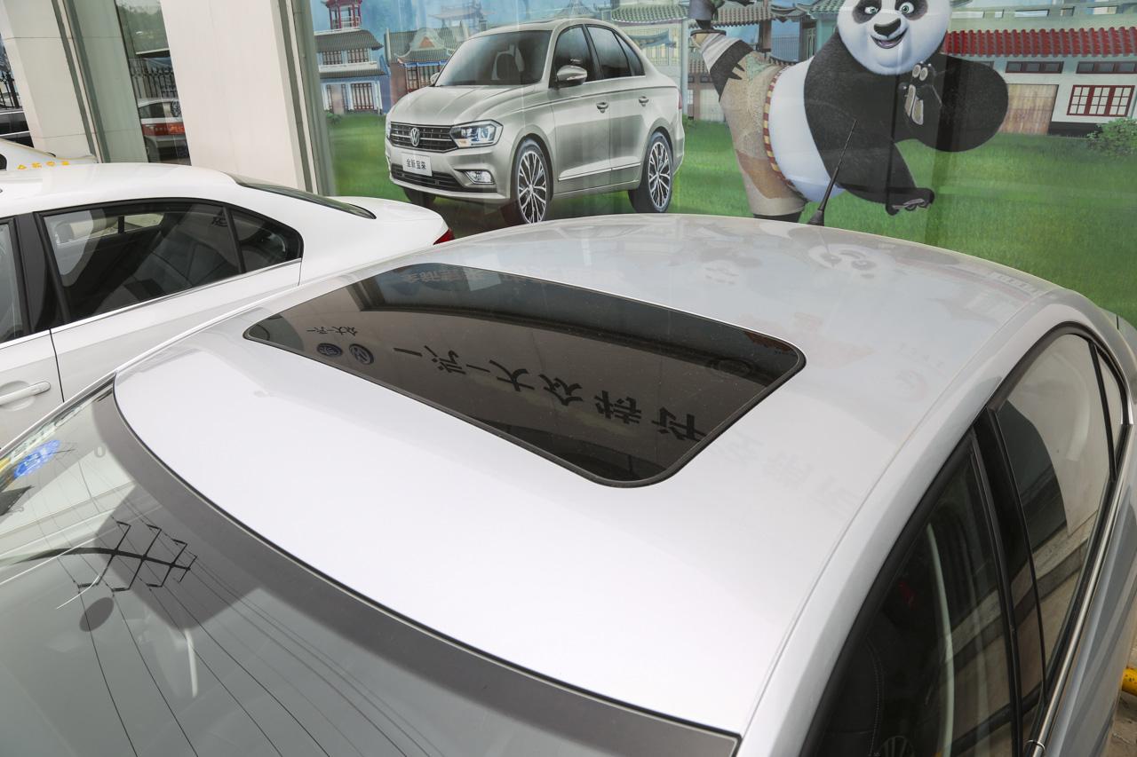 2015款捷达1.6L自动豪华型 闪光银