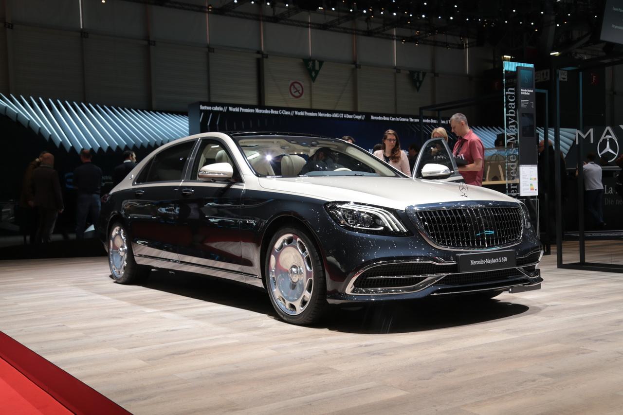 图集|迈巴赫新款S级车展发布 采用双色车身