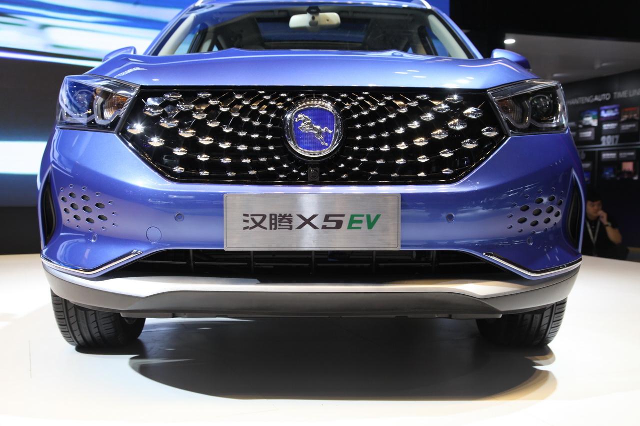 2018广州车展实拍:汉腾X5新能源