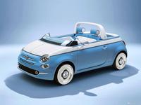 图集|菲亚特500特别版发布 采用蓝白色调