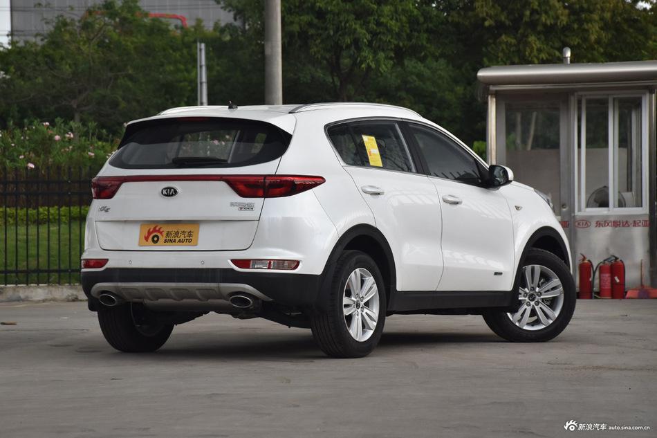 价格浮动欲上涨,起亚KX5成交价12.53万起