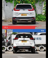 CR-V和奇骏风格这么不同 到底该选谁?