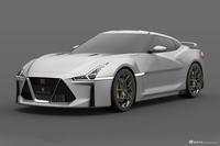 新一代日产GT-R假想图 让人热血沸腾