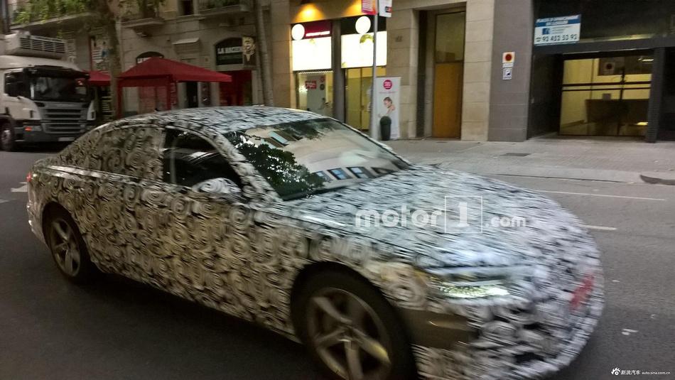 分享图片   全新一代A6在巴塞罗那测试