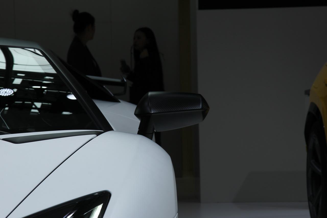 2018广州车展实拍:兰博基尼Aventador SVJ 63特别版