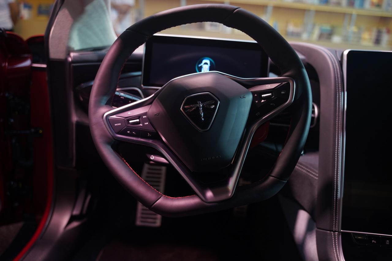 2018成都车展实拍:前途K50新能源