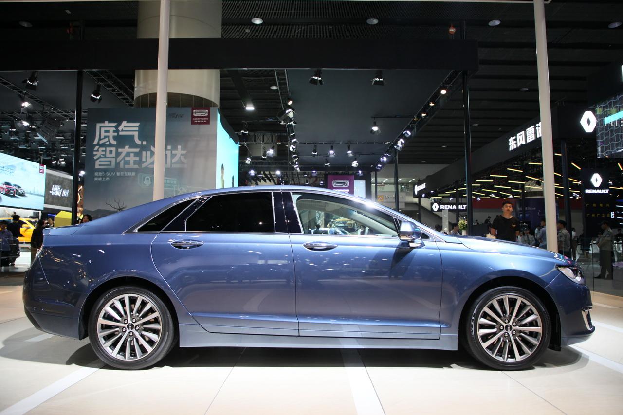 2018广州车展实拍:林肯MKZ