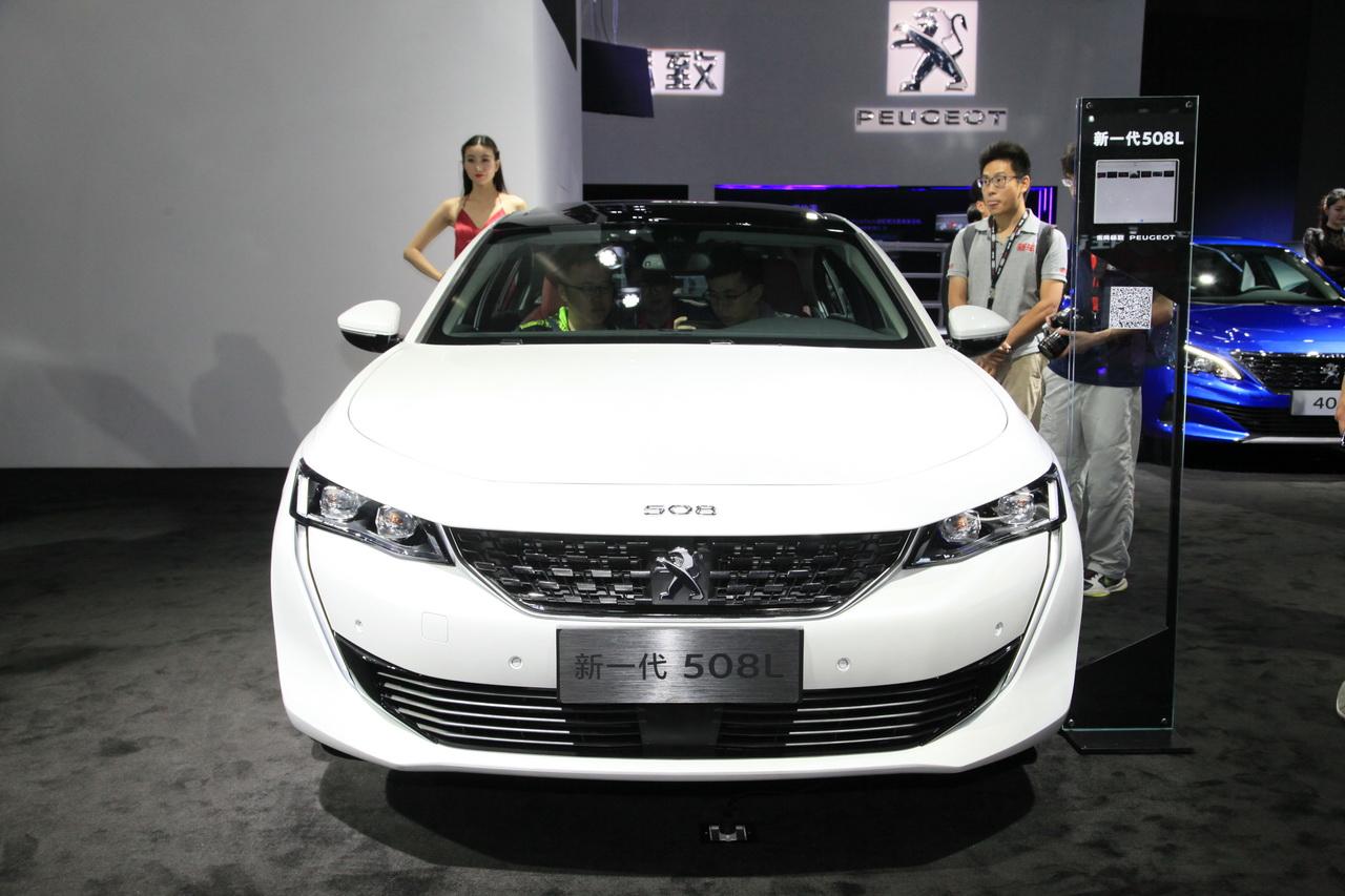 2018广州车展实拍:标致508L