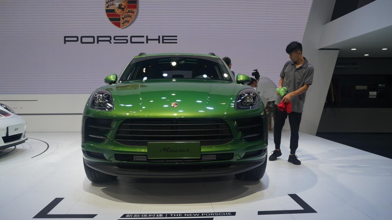 2018成都车展实拍:Macan