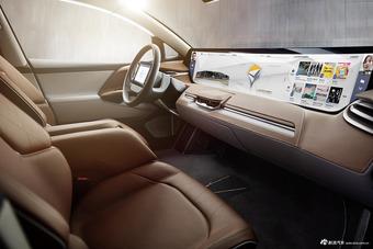 图集 刷脸开门配全球最大屏  拜腾首款车型发布